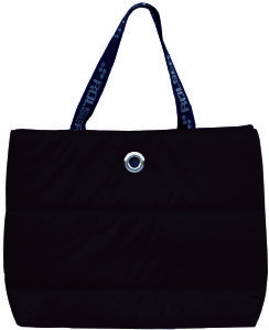 Rolser Polar black maxi shopping bag